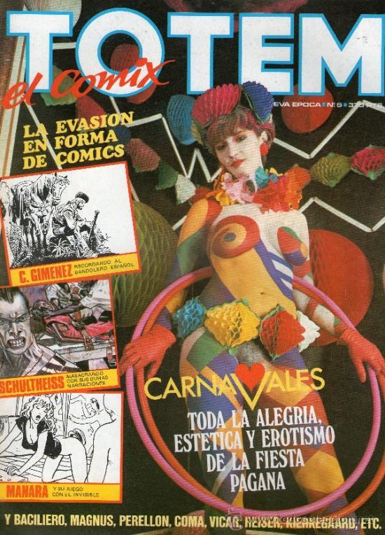TOTEM EL COMIX NUEVA EPOCA.NUMERO 5.TOUTAIN EDITOR (Tebeos y Comics - Toutain - Otros)