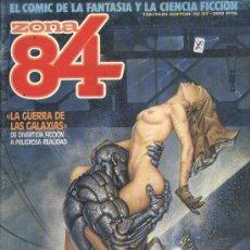 Cómics: ZONA 84 - Nº 37 - EL COMIC DE LA FANTASÍA Y LA CIENCIA FICCIÓN. Lote 210015826
