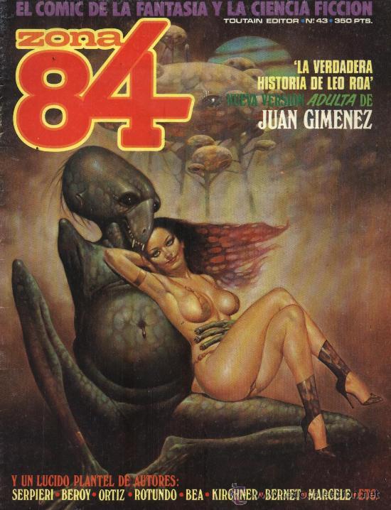 ZONA 84 - Nº 43 - EL COMIC DE LA FANTASÍA Y LA CIENCIA FICCIÓN (Tebeos y Comics - Toutain - Zona 84)