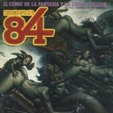 Cómics: ZONA 84 - Nº 46 - EL COMIC DE LA FANTASÍA Y LA CIENCIA FICCIÓN. Lote 210015856