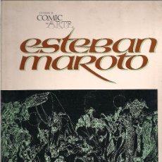 Cómics: ESTEBAN MAROTO - CUANDO EL COMIC ES ARTE - TOUTAIN 1976. Lote 33764943