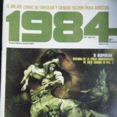 Cómics: 1984 Nº SIETE. Lote 34020441