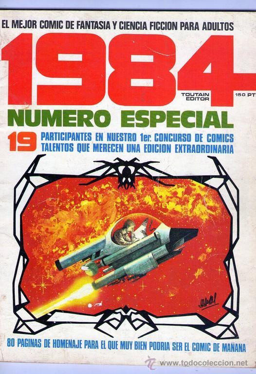 TOUTAIN 1984 NUMERO ESPECIAL (Tebeos y Comics - Toutain - 1984)