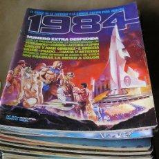 Cómics: 1984 – COLECCIÓN CASI COMPLETA - 54 EJEMPLARES – TAMBIÉN SUELTOS. Lote 34421039