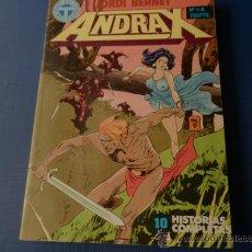 Cómics: ANDRAX - RETAPADO CON LOS NUMS. 1 AL 6 - TOUTAIN. Lote 34561882