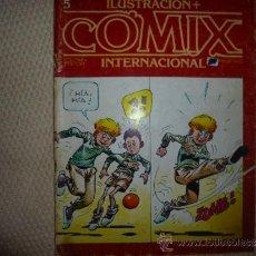 Cómics: ILUSTRACION Y COMIX INTERNACIONAL TOUTAIN Nº 5. Lote 34664535