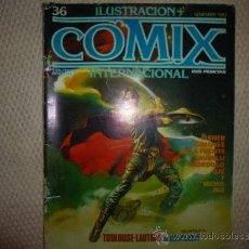 Cómics: ILUSTRACION Y COMIX INTERNACIONAL TOUTAIN Nº 36. Lote 34664636