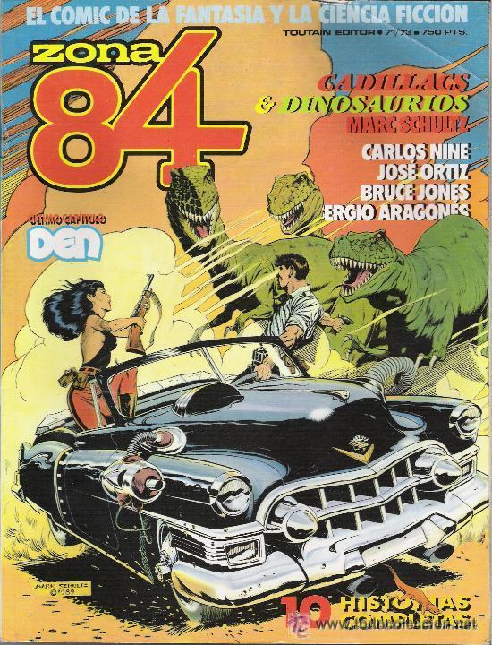 ZONA 84 - NUMEROS 71, 72 Y 73 (Tebeos y Comics - Toutain - Zona 84)
