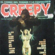Cómics: CREEPY Nº VEINTIDOS. Lote 35375982