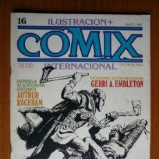 Cómics: COMIX INTERNACIONAL Nº 16 - MARZO 1982 -. Lote 35464725