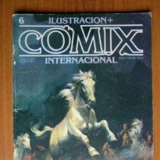 Cómics: COMIX INTERNACIONAL Nº 6 - TOUTAIN. Lote 35471290