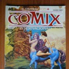 Cómics: COMIX INTERNACIONAL - Nº 40 - MARZO 1984. Lote 35471388