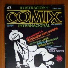 Cómics: COMIX INTERNACIONAL Nº 43 - JUNIO 1984. Lote 35471453