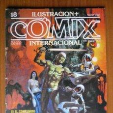 Cómics: COMIX INTERNACIONAL Nº 18 - MAYO 1982. Lote 35471642