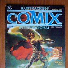 Cómics: COMIX INTERNACIONAL Nº 36 - NOVIEMBRE 1983. Lote 35472130