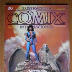 Cómics: COMIX INTERNACIONAL Nº 20 - JULIO 1982. Lote 35472154