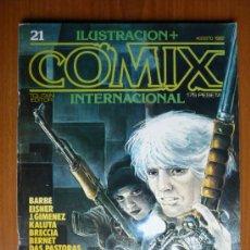 Cómics: COMIX INTERNACIONAL Nº 21 - AGOSTO 1982. Lote 35472162