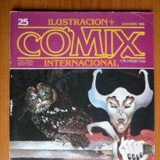 Cómics: COMIX INTERNACIONAL Nº 25 - DICIEMBRE 1982. Lote 35472258