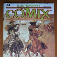 Cómics: COMIX INTERNACIONAL Nº 34 - SEPTIEMBRE 1983. Lote 35472276
