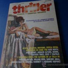 Cómics: THRILLER - COMICS Y CUENTOS NEGROS - TOMO NUM. 1 (NUMS. 1-2-3) - TOUTAIN 1984. Lote 35515752