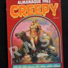 Cómics: CREEPY - ALMANAQUE 1982 - CÓMIC PARA ADULTOS - TERROR FANTASÍA - WILL EISNER JOSEP M. BEA CORBEN. Lote 35503880