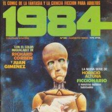Cómics: 1984 Nº 55.. Lote 35508115