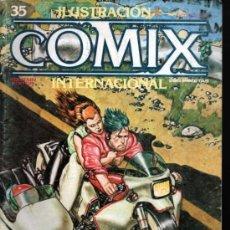 Cómics: ILUSTRACIÓN + COMIX INTERNACIONAL Nº 35. Lote 35658107