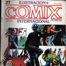 Cómics: ILUSTRACIÓN + COMIX INTERNACIONAL Nº 27. Lote 35658134