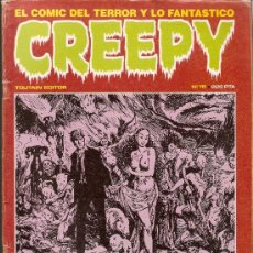 Cómics: CREEPY - Nº 76 - TOUTAIN EDITOR - 1985. Lote 35666601