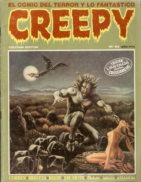 CREEPY - Nº 65 - TOUTAIN EDITOR - 1984 (Tebeos y Comics - Toutain - Creepy)
