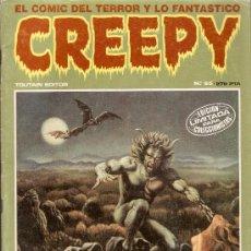 Cómics: CREEPY - Nº 65 - TOUTAIN EDITOR - 1984. Lote 35666758