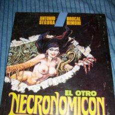 Fumetti: COMIC EL OTRO NECRONOMICON - TOUTAIN EDITOR - ALBERTO BRECCIA - ANTONIO SEGURA - BROCAL REMOHI. Lote 35703888