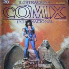 Cómics: COMIX Nº 20 JULIO 1982.. Lote 35772602