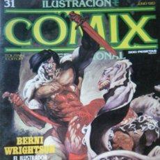 Cómics: COMIX Nº 31 JUNIO 1983.. Lote 35807414