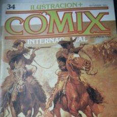 Cómics: COMIX Nº 34 SEPTIEMBRE 1983. Lote 35835425