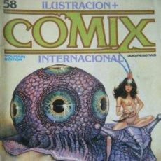 Cómics: COMIX Nº58 NOVIEMBRE 1985. Lote 35916273