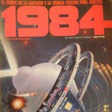 Cómics: 1984 Nº 40 MAYO 1982. Lote 35958034