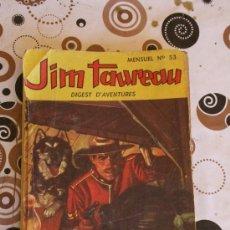 Cómics: JIM TAUREAU. Nº 53. LE RETOUR DE NORCUS. . Lote 36262698