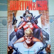 Cómics: BURTON Y CYB Nº 2, DE ANTONIO SEGURA Y JOSE ORTIZ. Lote 36329546