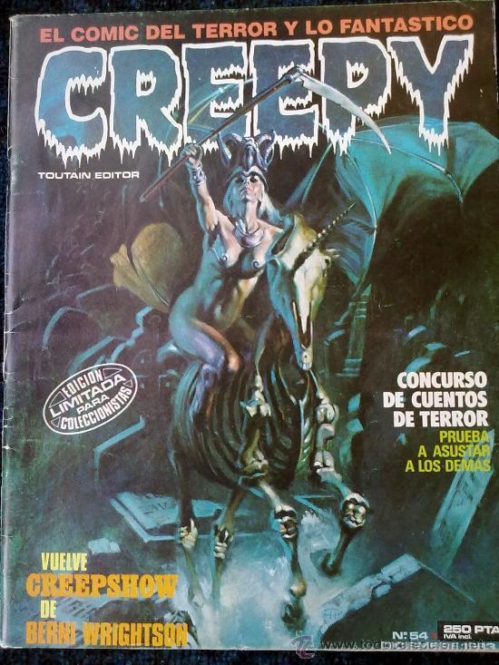 CREEPY Nº 54 (Tebeos y Comics - Toutain - Creepy)