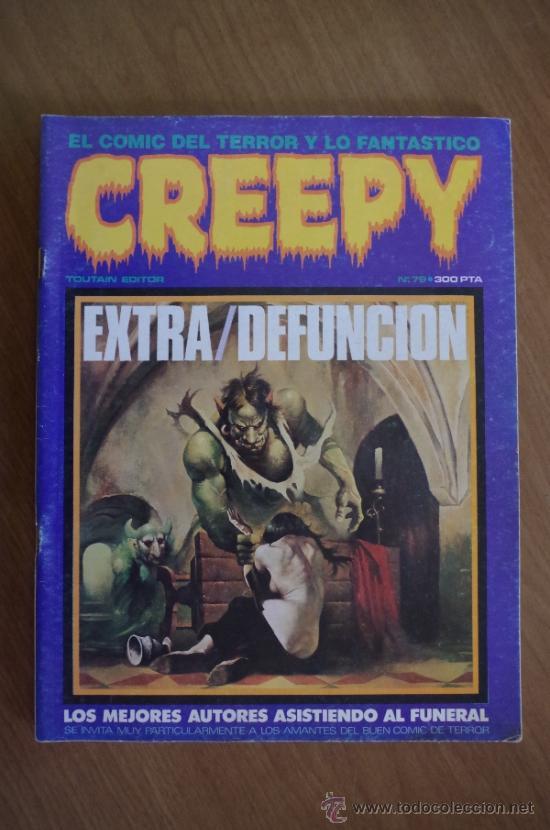 CREEPY Nº 79 EXTRA DEFUNCION EL ULTIMO DE LA COLECCION (Tebeos y Comics - Toutain - Creepy)