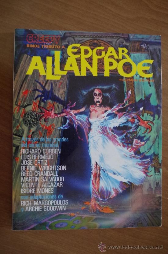 TRIBUTO A EDGAR ALLAN POE CREEPY 1980 (Tebeos y Comics - Toutain - Creepy)