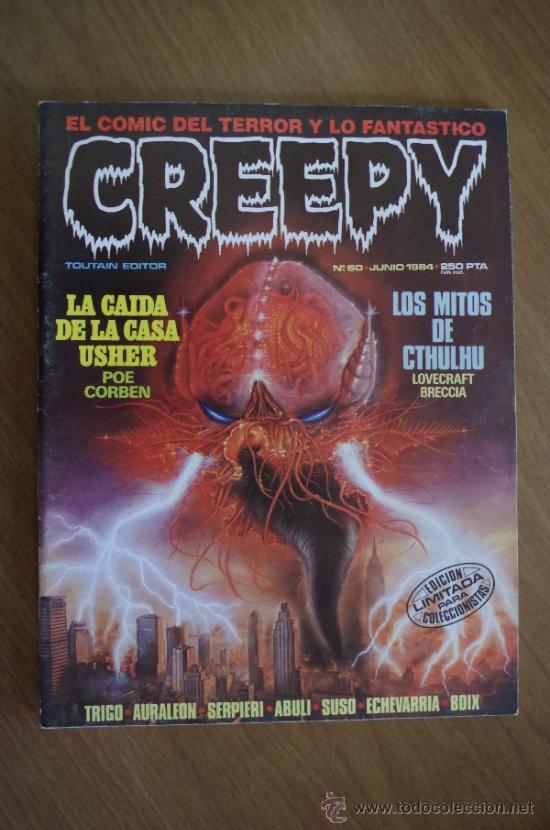 CREEPY Nº60 EDICION LIMITADA PARA COLECCIONISTAS (Tebeos y Comics - Toutain - Creepy)
