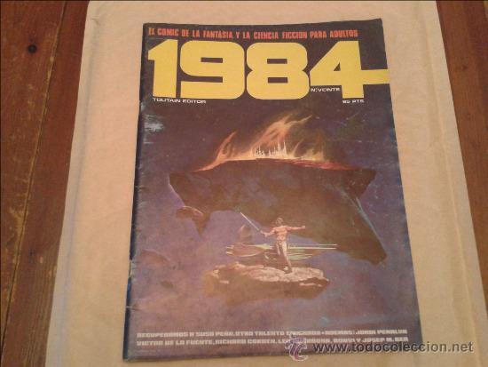 1984 Nº 20 (Tebeos y Comics - Toutain - 1984)