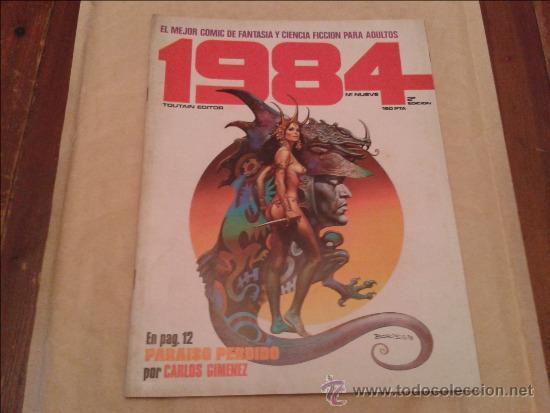 1984 Nº 9 (Tebeos y Comics - Toutain - 1984)