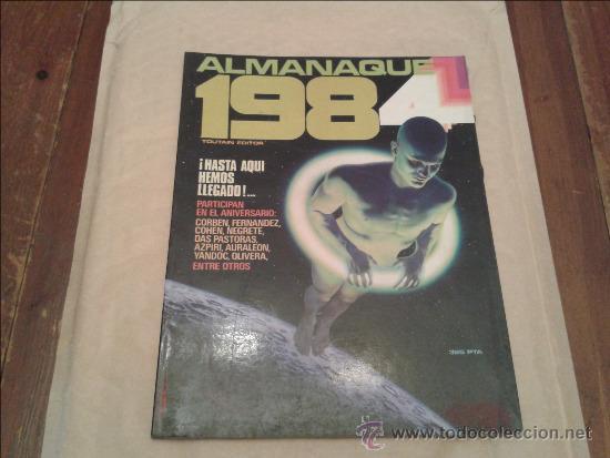 1984 ALMANAQUE 1984 (Tebeos y Comics - Toutain - 1984)