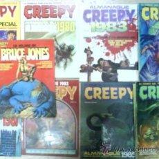 Cómics: EXCELENTE LOTE DE CREEPY : ALMANAQUES, ESPECIALES,COMICS... // CREEPY. Lote 36607929