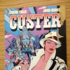Comics: CUSTER - CÓMIC DE CARLOS TRILLO Y JORDI BERNET - ALTAS DOSIS DE ACCIÓN Y EROTISMO. Lote 36745650