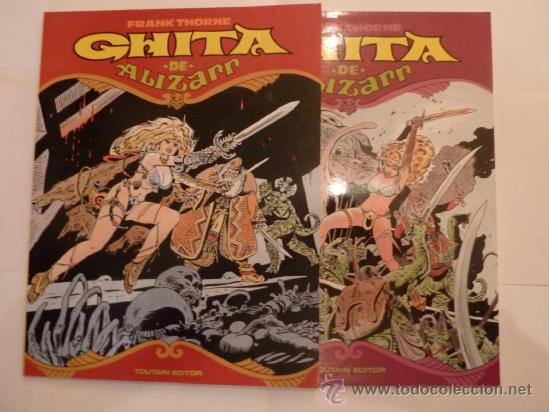 GHITA DE ALIZAM- COLECCION COMPLETA- DOS TOMOS - EDITOR TOUTAIN CJ 4 (Tebeos y Comics - Toutain - Otros)