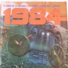 Cómics: 1984 Nº 21 CON BEA-CORBEN-VICTOR DE LA FUENTE-JULIO RIBERA. Lote 166673229